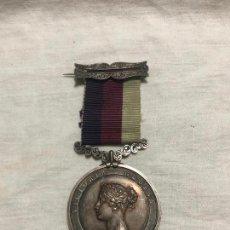 Medallas históricas: MEDALLA VICTORIA REGINA DE PLATA 1868.. Lote 226852145