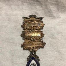 Medallas históricas: MEDALLA MASONICA PLATA ESMALTADA 1912. Lote 226859595