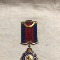 Medallas históricas: MEDALLA MASONICA PLATA Y ESMALTE 1960. Lote 226862885