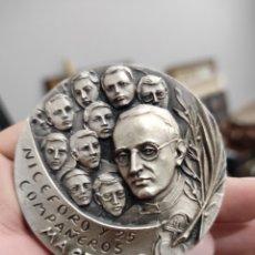 Medallas históricas: NICEFORO Y COMPAÑEROS MARTIRES BEATOS POR JUAN PABLO II 1989 MEDALLA 6CM. Lote 228606485