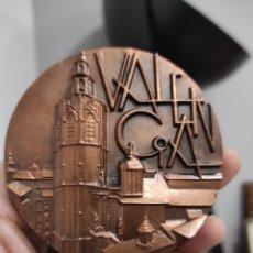 Medallas históricas: MEDALLA VALENCIA REAL CASA DE LA MONEDA 1973 MEDIDA 8CM. Lote 228607853