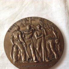 Medallas históricas: MEDALLA CONMEMORATIVA DE BRONCE.. Lote 228832010