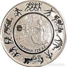 Medaglie storiche: ESPAÑA. MEDALLA DE LOS JUEGOS OLÍMPICOS LOS ÁNGELES. 1.984. PLATA CALIDAD PROOF. Lote 232363175