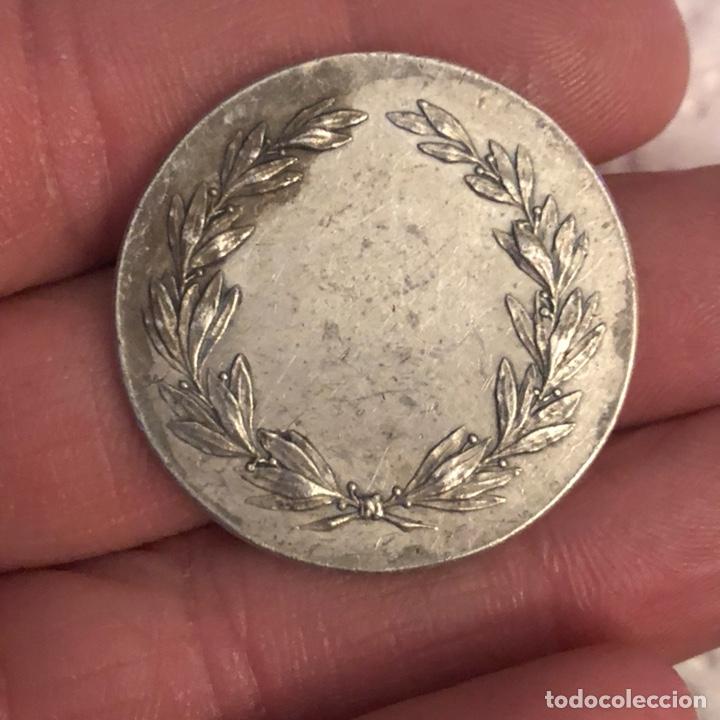 Medallas históricas: Bonita medalla antigua a clasificar, plata - Foto 3 - 232641180