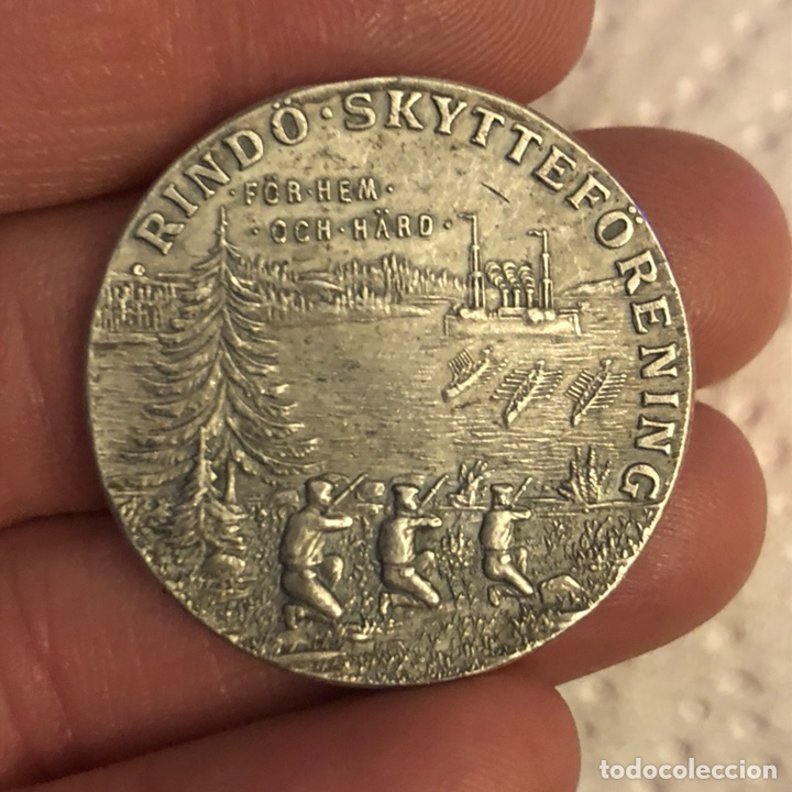 BONITA MEDALLA ANTIGUA A CLASIFICAR, PLATA (Numismática - Medallería - Histórica)