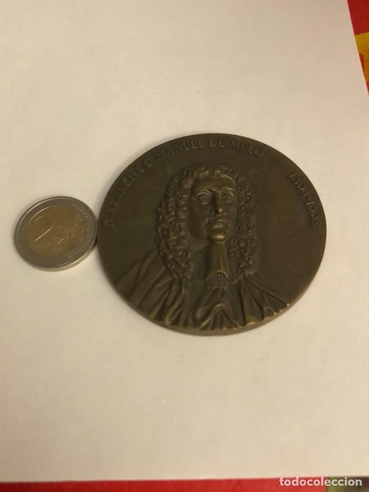 ANTIGUA MEDALLA DE BRONCE PORTUGUESA A CLASIFICAR, GRAN TAMAÑO (Numismática - Medallería - Histórica)