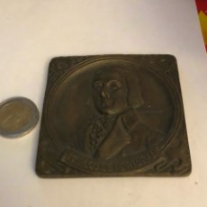 Medallas históricas: ANTIGUA MEDALLA DE BRONCE PORTUGUESA A CLASIFICAR, GRAN TAMAÑO. Lote 234553100