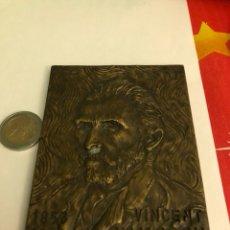 Medallas históricas: BONITA MEDALLA ANTIGUA VICENT VAN GONG, BRONCE, GRAN TAMAÑO. Lote 234559515