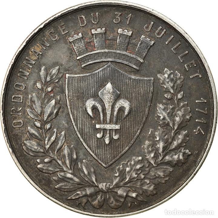 Medallas históricas: Francia, Token, Chambre de Commerce de Lille, Borrel.A, MBC+, Plata - Foto 2 - 234896320