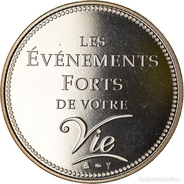 Medallas históricas: Francia, medalla, Passage à lEuro, 2002, Politics, Society, War, 2002, FDC - Foto 2 - 234897610