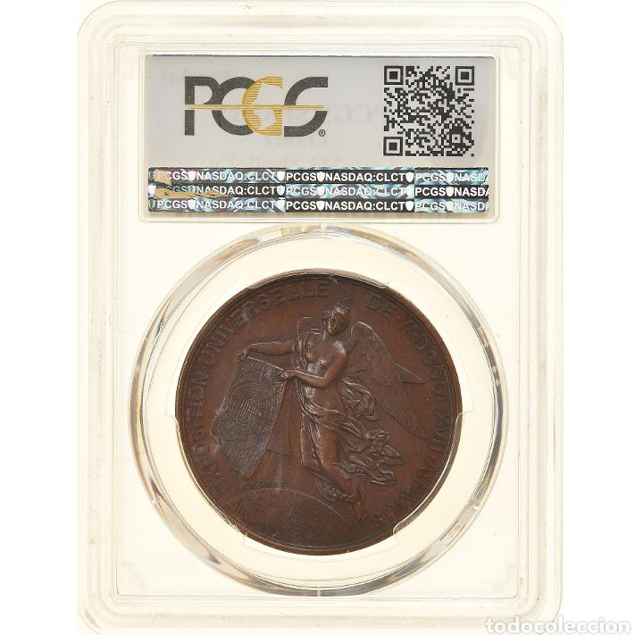 Medallas históricas: Francia, medalla, Second French Empire, Exposition universelle de Paris, 1867 - Foto 2 - 234899030