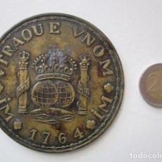 Medallas históricas: MEDALLA DE GRAN TAMAÑO UTRAQUE 1764. Lote 235119395