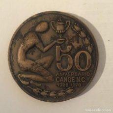 Medallas históricas: MEDALLA 50 ANIVERSARIO DEL CANOE NATACIÓN CLUB - 1928 1978. Lote 235327725