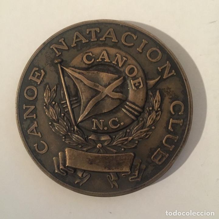 Medallas históricas: Medalla 50 aniversario del CANOE NATACIÓN CLUB - 1928 1978 - Foto 2 - 235327725