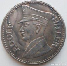 Medallas históricas: IMPRESIONANTE MONEDA CONMEMORATIVA ADOLF HITLER 1889 - 1945. Lote 235416945