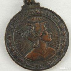 Medallas históricas: MEDALLA CENTRO UNION VIAJANTES BUENOS AIRES CINCUENTENARIO 4 DE JULIO 1903 1953. Lote 235552320
