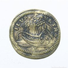 Medallas históricas: JETÓN FRANCÉS. CATALINA II DE RUSIA. BARCO, PLUS ULTRA.. Lote 235694575