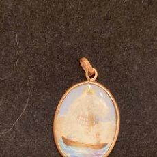 Medallas históricas: MEDALLA ESMALTADA Y DORADA. Lote 236019120