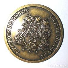 Medallas históricas: MEDALLA BRONCE DEL IV CENTENARIO DEL ILUSTRE COLEGIO DE ABOGADOS DE MADRID. Lote 236157445