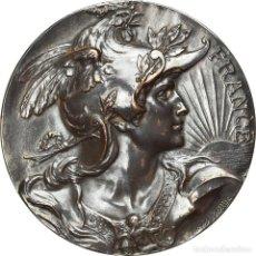 Medallas históricas: FRANCIA, MEDALLA, OFFERT PAR M. LAVOINNE, SÉNATEUR, POLITICS, SOCIETY, WAR. Lote 236379450