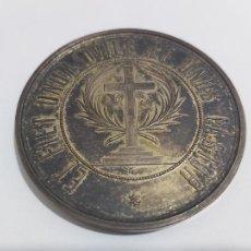 Medallas históricas: MEDALLA PRIMER CONGRESO CATOLICO NACIONAL MADRID 1889. Lote 236594030