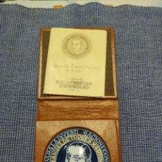 Medallas históricas: CALERIA DE ECONOMISTAS EPANOLES. Lote 238273115