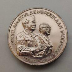 Medallas históricas: ANTIGUA MONEDA/MEDALLA DECLARACIÓN DE INDEPENDENCIA INDONESIA 17-8-1945 SOEKARNO HATTA. Lote 242225915