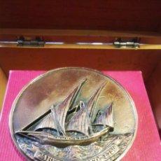 Medallas históricas: MEDALLA DE XV SEMANA INTERNACIONAL DE CINE NAVAL Y DEL MAR, CARTAGENA 1986. Lote 243869690