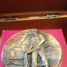 Medallas históricas: MEDALLA, XIII SEMANA INTERNACIONAL DE CINE NAVAL Y DEL MAR, CARTAGENA 1984. Lote 243870610