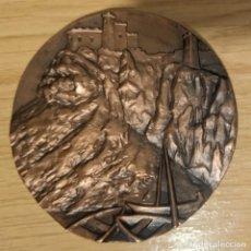 Medaglie storiche: MEDALLA BRONCE ALICANTE CASTILLO. Lote 245468020