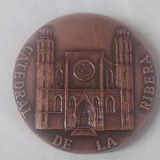 Medallas históricas: MEDALLA CATEDRAL DE LA RIBERA VI CENTENARI BASILICA DE SANTA MARIA DE LA MAR 1383-1983. Lote 245628625