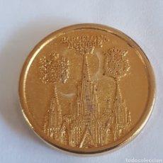 Medallas históricas: MEDALLA IÑAKI Y CRISTINA BARCELONA 1997. Lote 246881580
