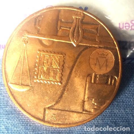 Medallas históricas: Medalla acuñadas por la FNMT para conmemorar la Ceca de Madrid - Foto 2 - 235911050
