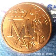 Medallas históricas: MEDALLA ACUÑADAS POR LA FNMT PARA CONMEMORAR LA CECA DE MADRID. Lote 235911050