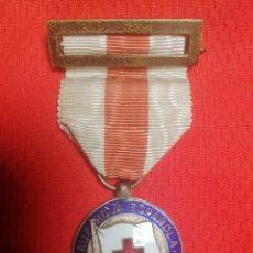 Medallas históricas: MEDALLA CRUZ ROJA FIESTA DE LA BANDERITA ERROR EN LETRA Ñ ..!!. Lote 248301150