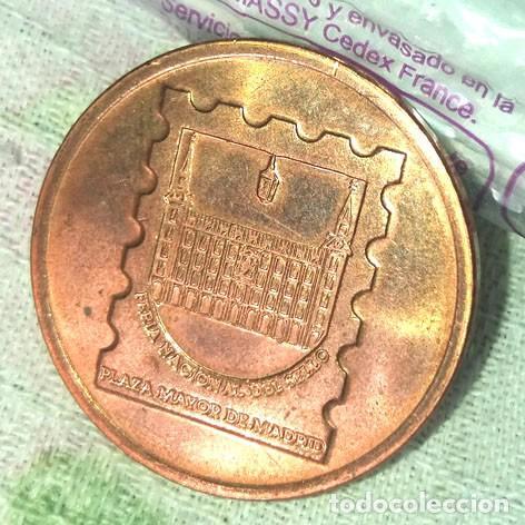 Medallas históricas: Medalla conmemorativa sellos Olimpicos plata FNMT - Foto 2 - 244495840