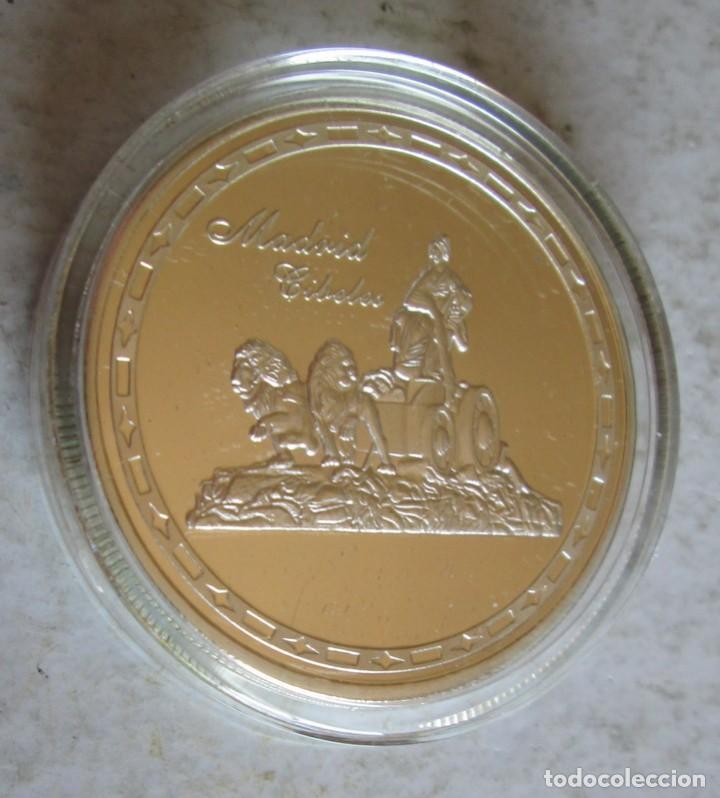 MADRID / CIBELES- PLATEADA FDC -TAMAÑO DURO (Numismática - Medallería - Histórica)
