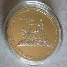 Medallas históricas: MADRID / CIBELES- PLATEADA FDC -TAMAÑO DURO. Lote 248511755