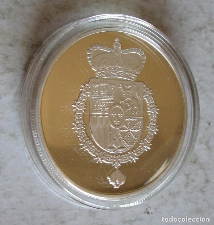Medallas históricas: MADRID / CIBELES- PLATEADA FDC -TAMAÑO DURO - Foto 2 - 248511755