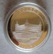 Medallas históricas: TOLEDO / ALCAZAR - PLATEADA -FDC -TAMAÑO DURO. Lote 248512465