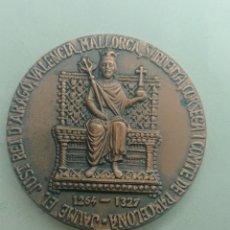 Medaglie storiche: MEDALLA JAUME EL JUST REI ARAGO, VALENCIA, MALLORCA, SARDENYA, CORSEGA I COMTE DE BARCELONA. Lote 251251580