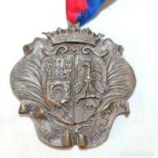 Medallas históricas: INTERESANTE Y GRAN MEDALLA DE COFRADÍA GASTRONÓMICA SEGUNTINA SANTA TERESA. ESCUDO DE SIGÜENZA.. Lote 251573970