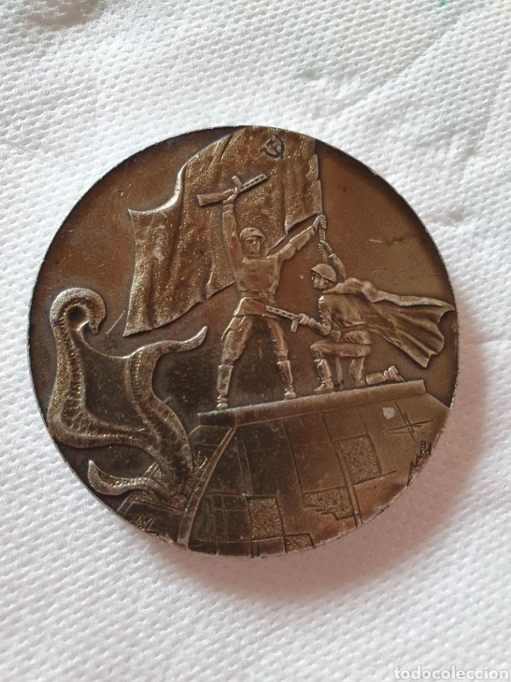 Medallas históricas: Urrs colección de 15 medallas conmemorativas - Foto 15 - 251806210