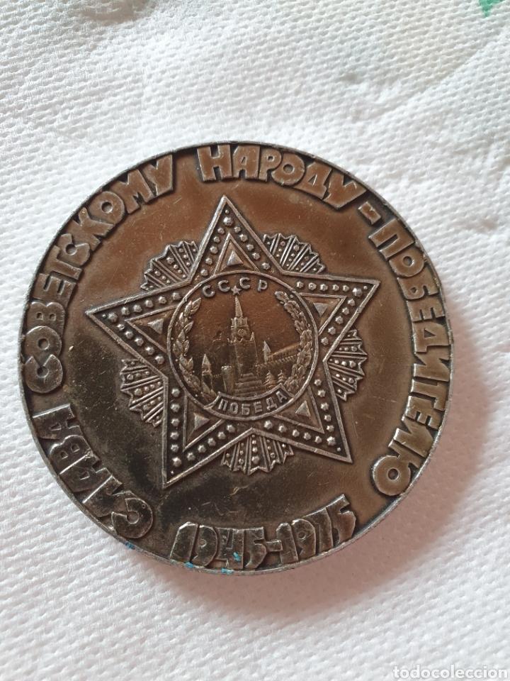Medallas históricas: Urrs colección de 15 medallas conmemorativas - Foto 30 - 251806210