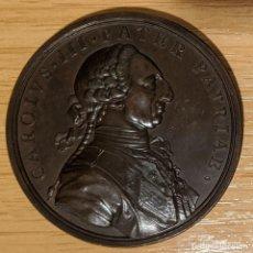 Medalhas históricas: ESPAÑA. CARLOS III. MEDALLA ESTABLECIMIENTO COLONIAS DE SIERRA MORENA. 1.774. Lote 251885850