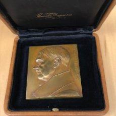 Medallas históricas: FANTASTICA MEDALLA ORIGINAL ADOLF HITLER. REALIZADA POR FRANZ STIASNY. FIRMADA. Lote 252111170