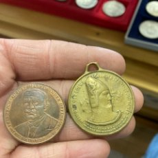 Medallas históricas: LOTE DE 2 MEDALLAS ALEMANAS. Lote 252151040