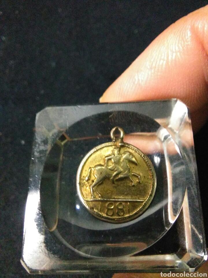 Medallas históricas: Antigua medalla ,napoleon III emperador ,1881 - Foto 4 - 253308140