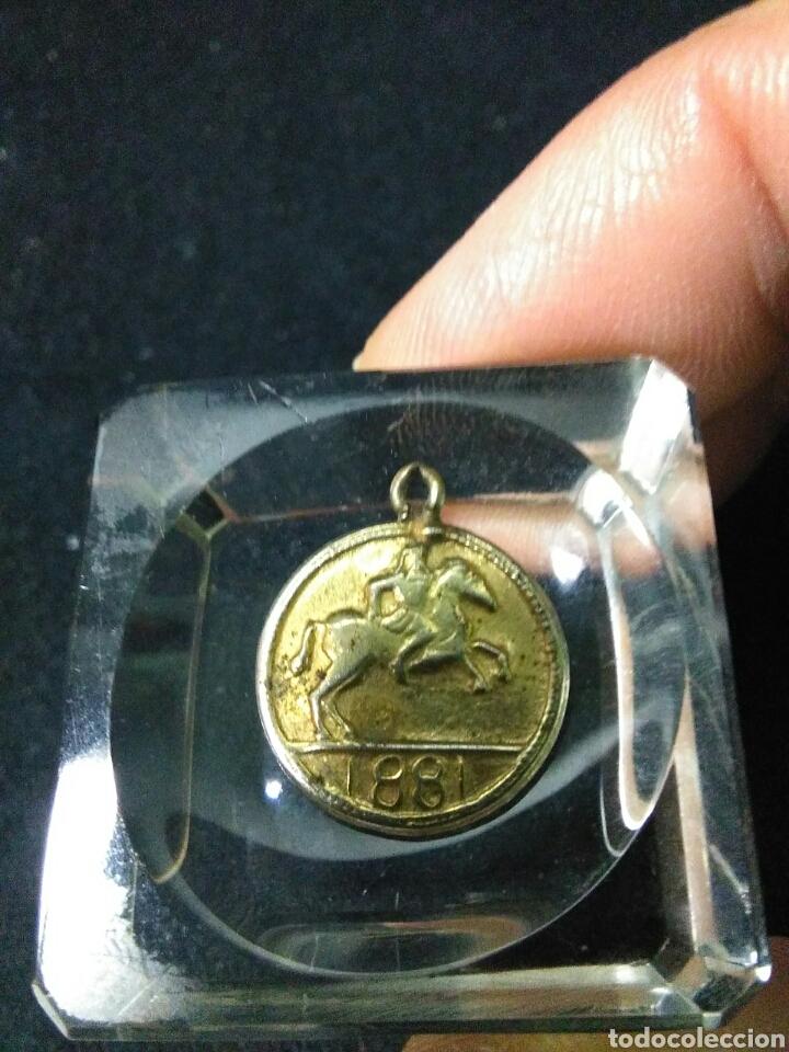 Medallas históricas: Antigua medalla ,napoleon III emperador ,1881 - Foto 5 - 253308140