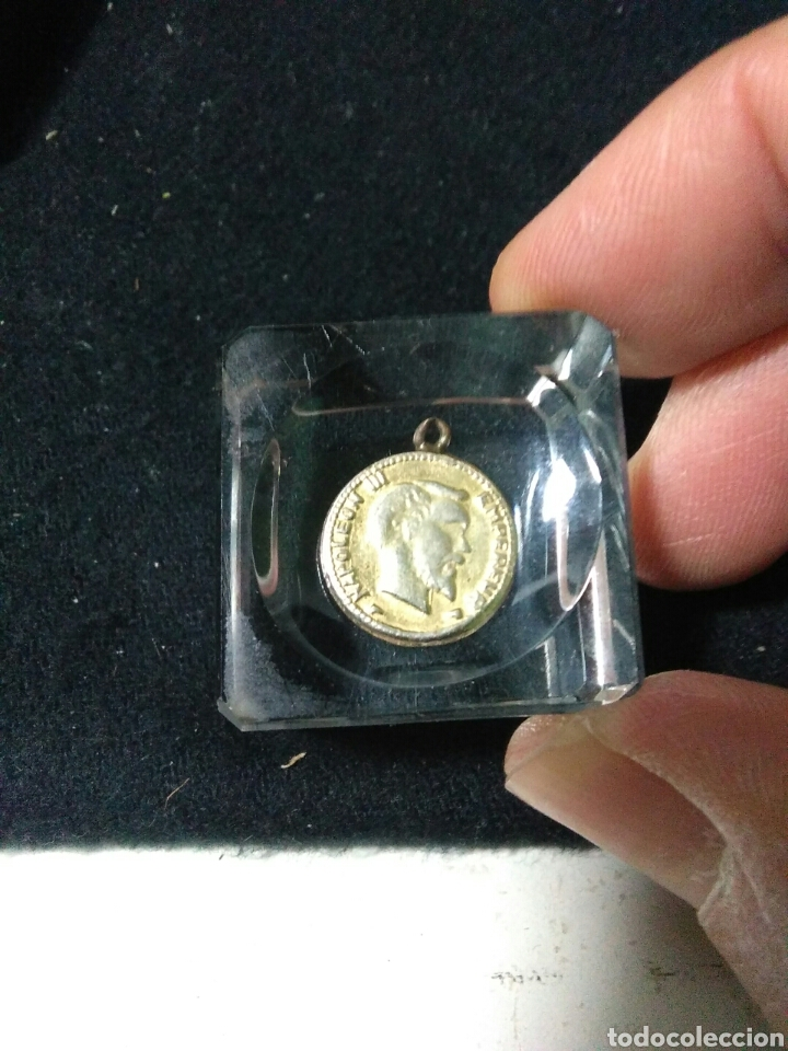 ANTIGUA MEDALLA ,NAPOLEON III EMPERADOR ,1881 (Numismática - Medallería - Histórica)